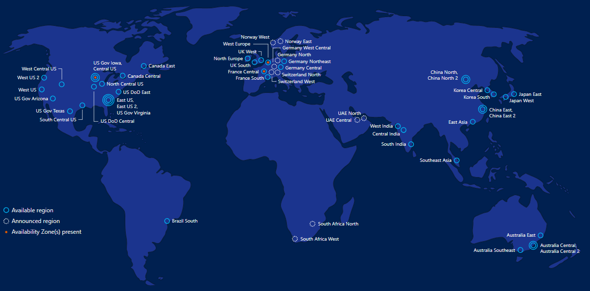 Microsoft Azure Global Infra