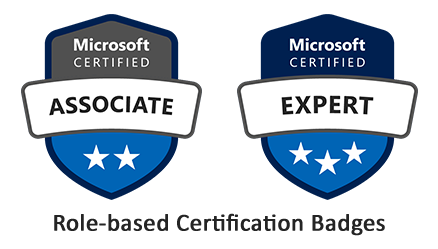 Microsoft Azure Role Based Badges