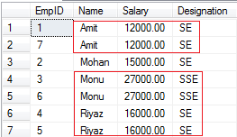 Delete Duplicate Rows in SQL Server From a Table