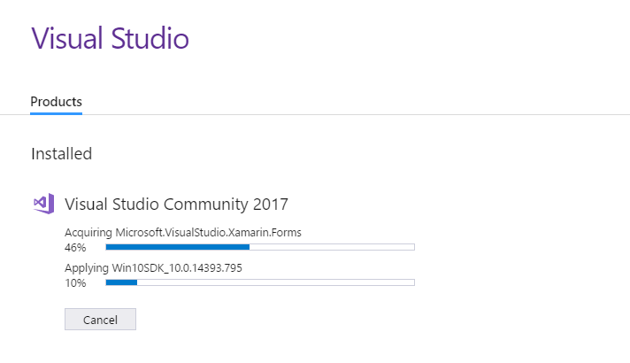 Install the Visual Studio 2017 IDE
