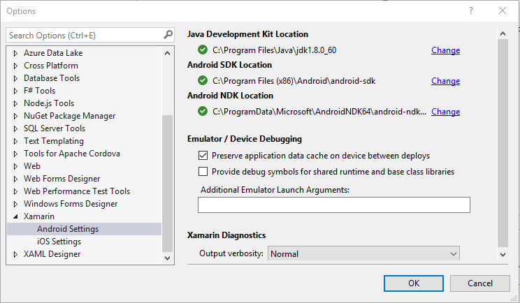 Verify your Xamarin Installation