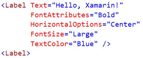 XAML Attribute Syntax